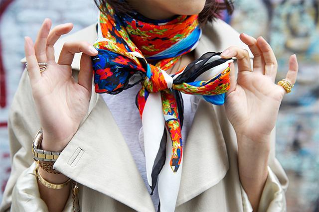neckerchief11 Trend alarm: Bandana na sedam načina