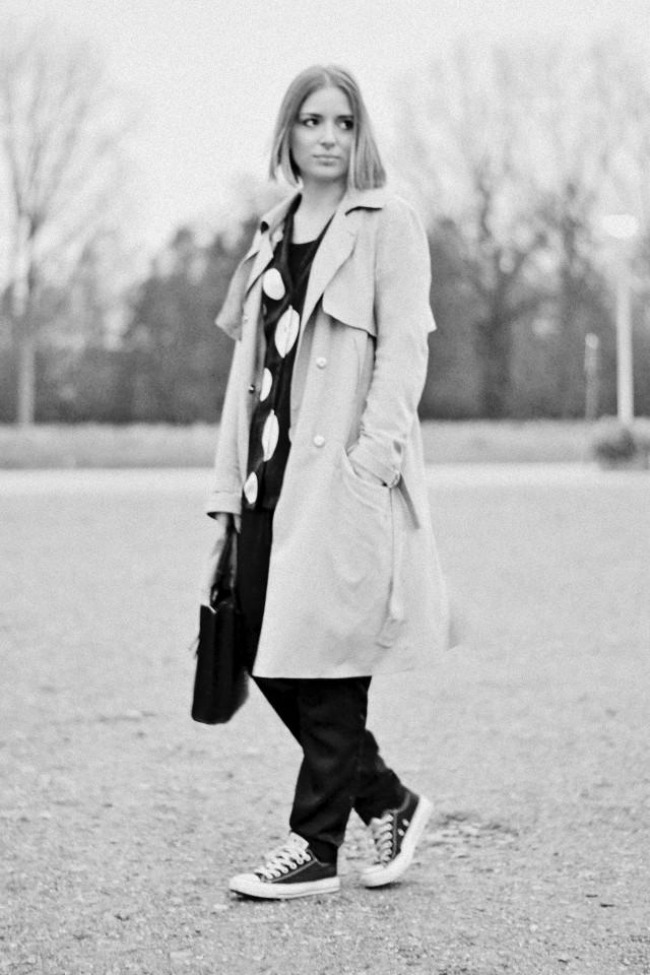 shorty grey tones L GhOmal Modne blogerke predlažu: Starke za sve prilike
