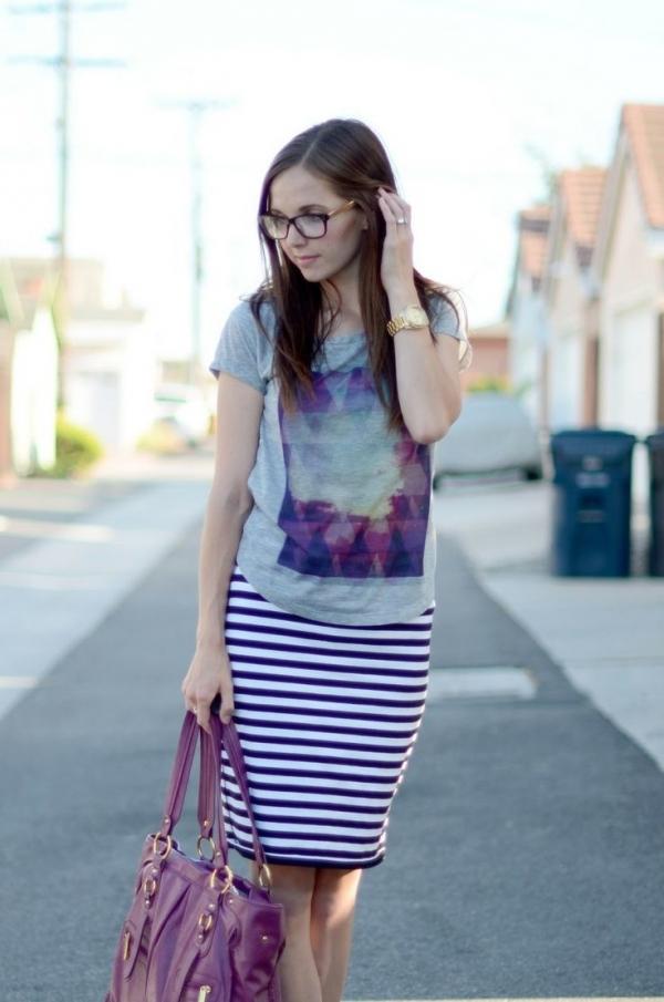 tajb366i Modni trend: Pencil suknje sa printom
