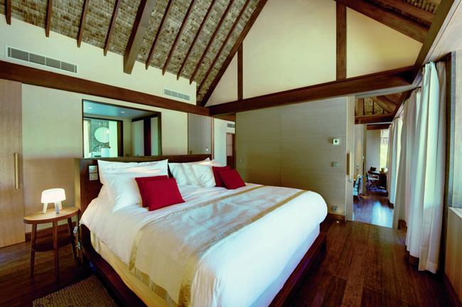 the one bedroom villas are a spacious 1033 square feet while three bedroom villas are upwards of 2648 square feet Odmor za oči: Luksuz na ostrvu Marlona Branda