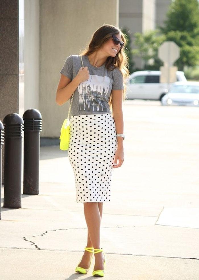 ykbjs37e1 Modni trend: Pencil suknje sa printom