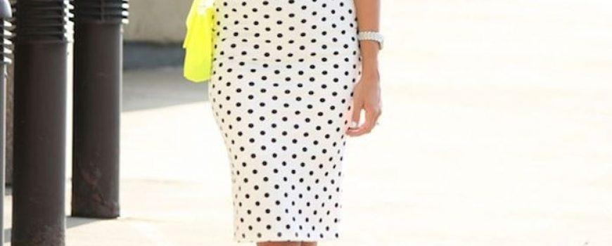 Modni trend: Pencil suknje sa printom