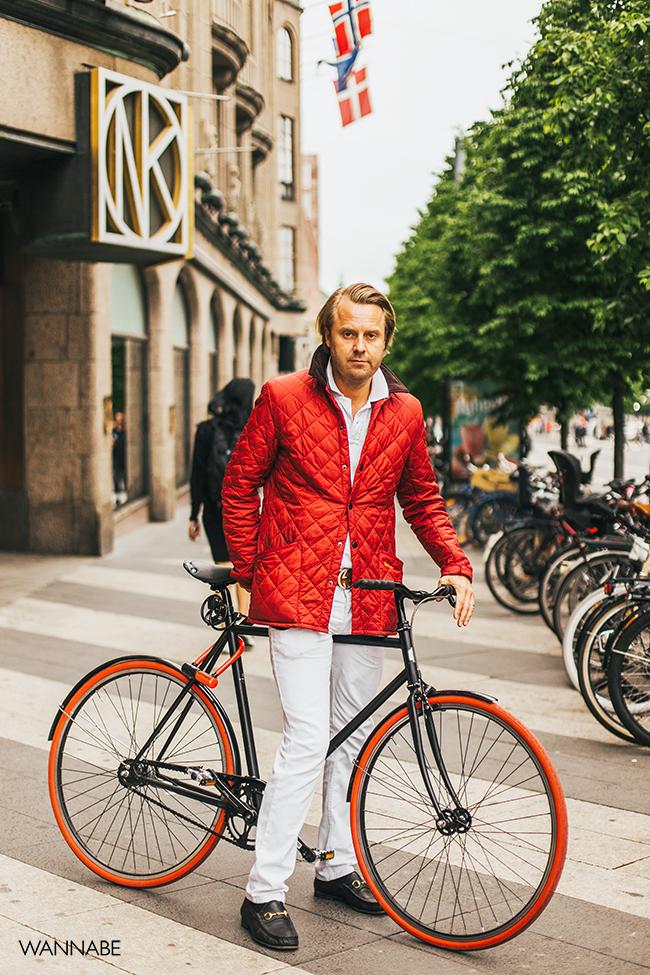 011 Stokholm Street Style: Bicikl kao modni detalj