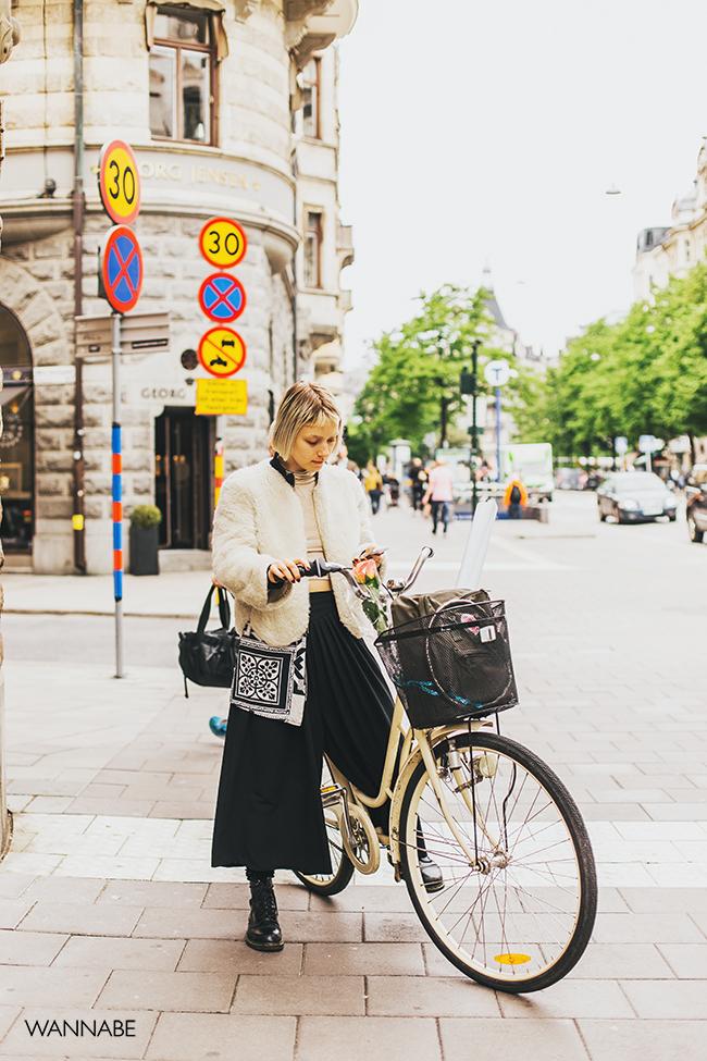 08 Stokholm Street Style: Bicikl kao modni detalj