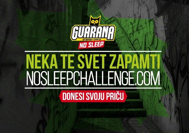 1101 Guarana NOSLEEPCHALLENGE konkurs