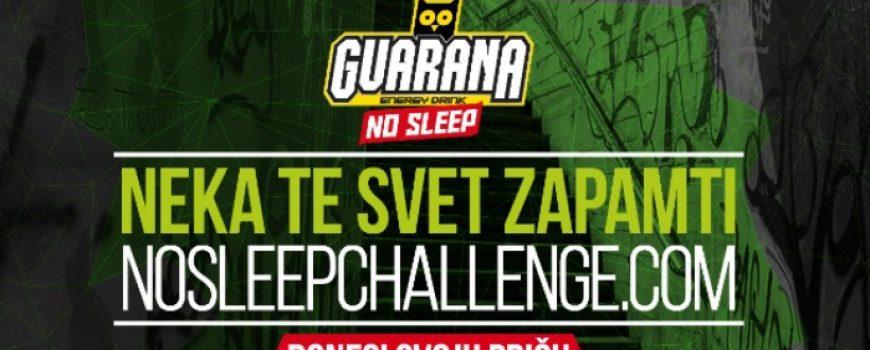 Guarana NOSLEEPCHALLENGE konkurs