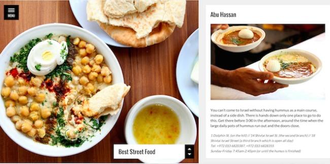 237 Online kulinarski vodič: Putovanje do Tel Aviva
