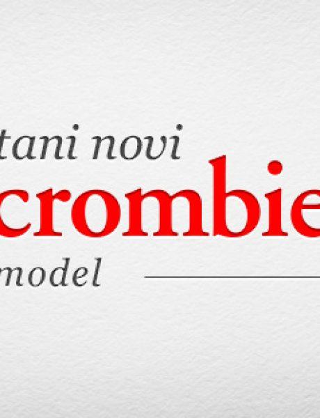 Postani novi Abercrombie model
