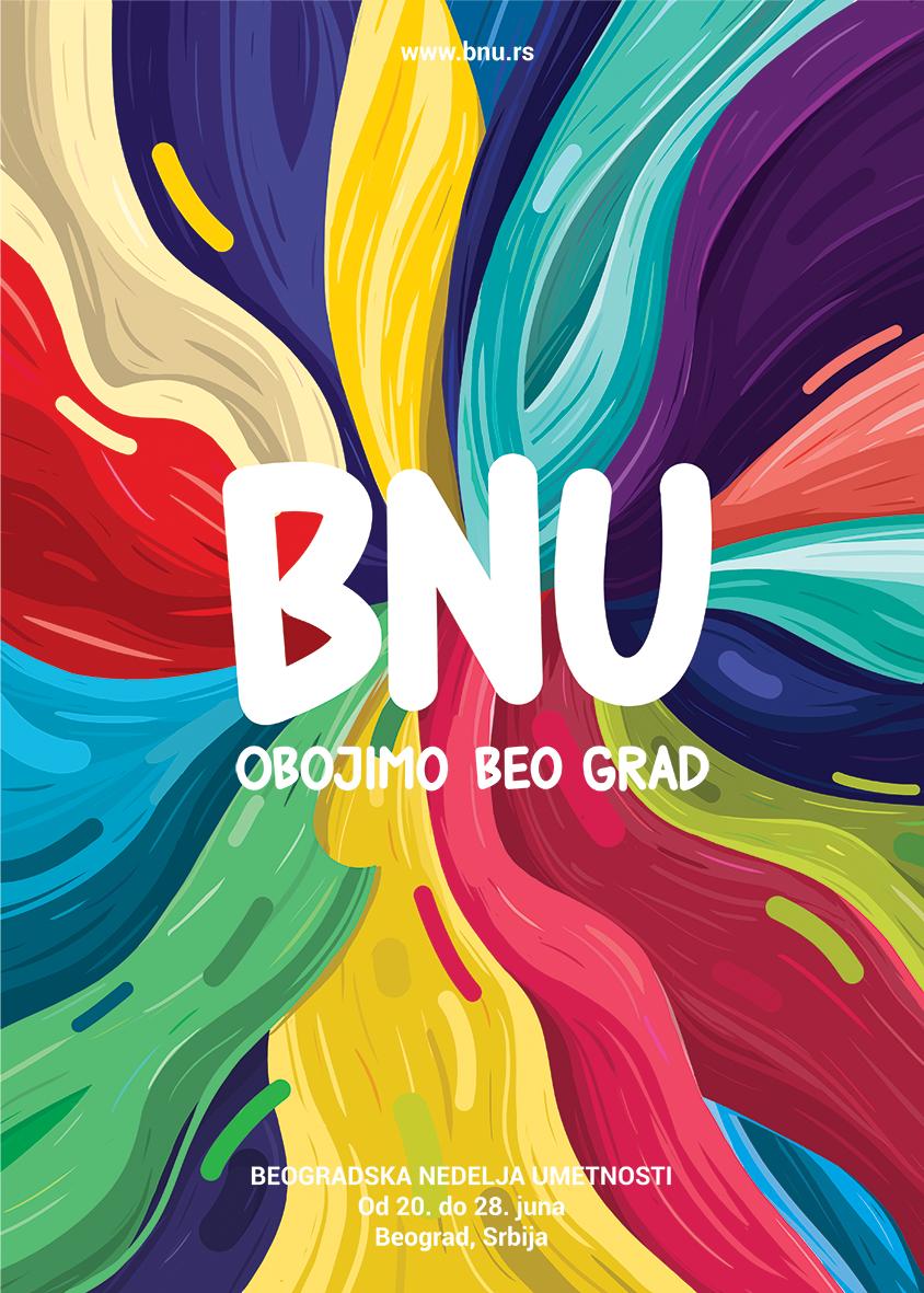 BNU 2014 21 IV Beogradska nedelja umetnosti: Obojimo Beograd zajedno