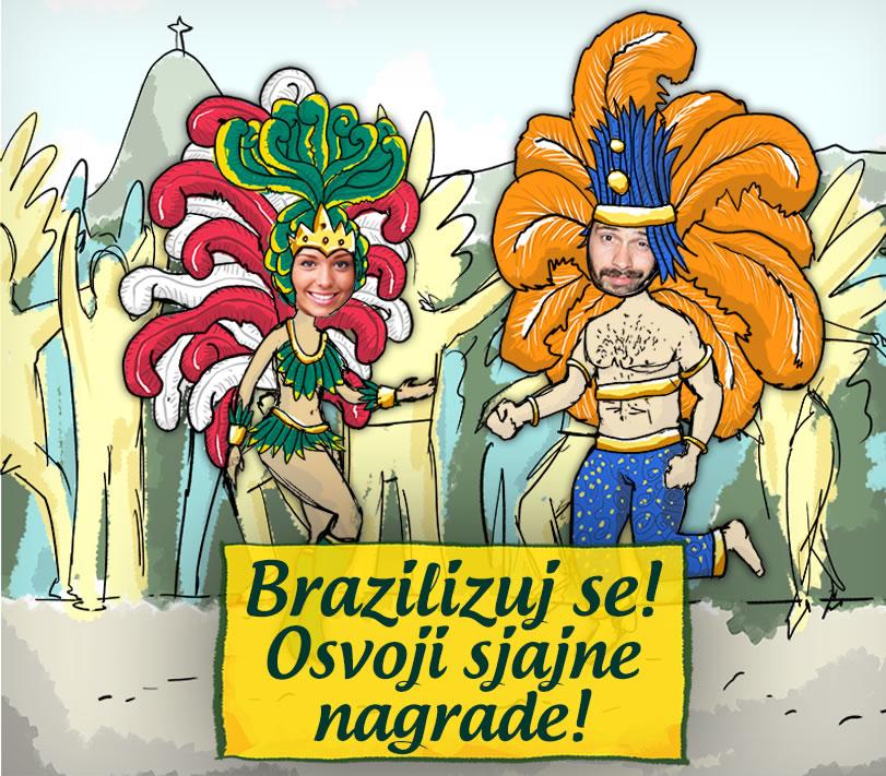 Brazilizacija Brazilizacija: Da i vama zamiriše Brazil!
