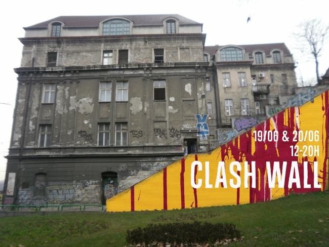 CLASH WALL Vreme je za umetnost: Clash Wall