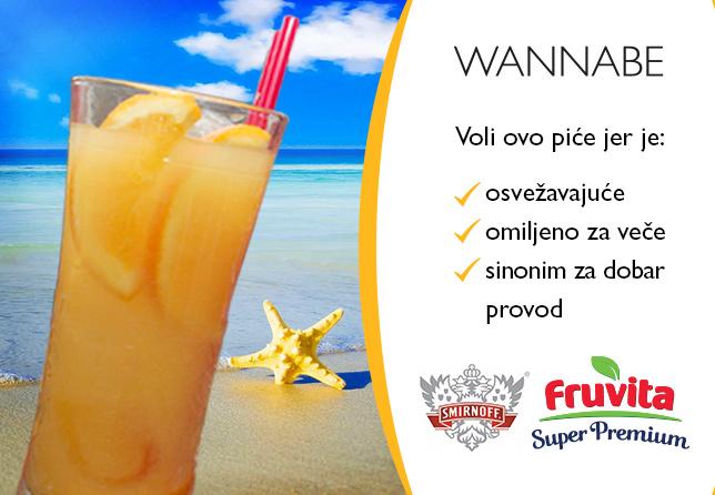 D  Radovi Wannabe Promocije Vizuali Fruvita web Fruvita Wannabe rad Napravi svoj savršen miks: Smirnoff & Orange Juice