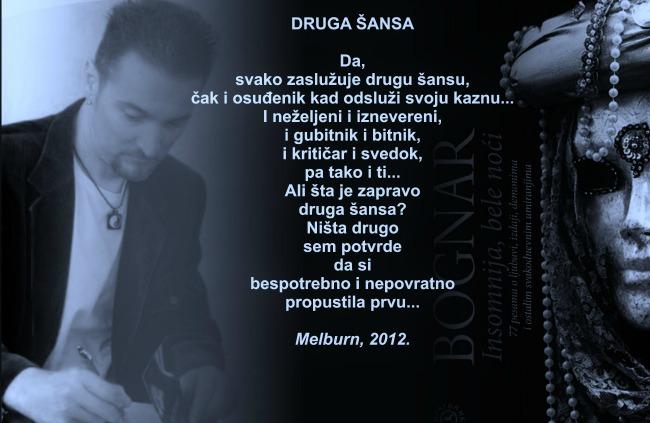 Druga sansa Wannabe intervju: Zoran Bognar, pesnik
