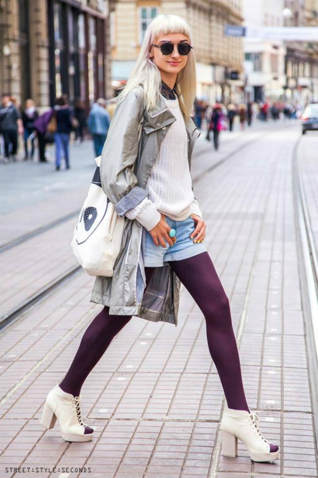 Ekscentrična devojka Street Style: Još jedno leto dočekujemo sa Zagrepčanima