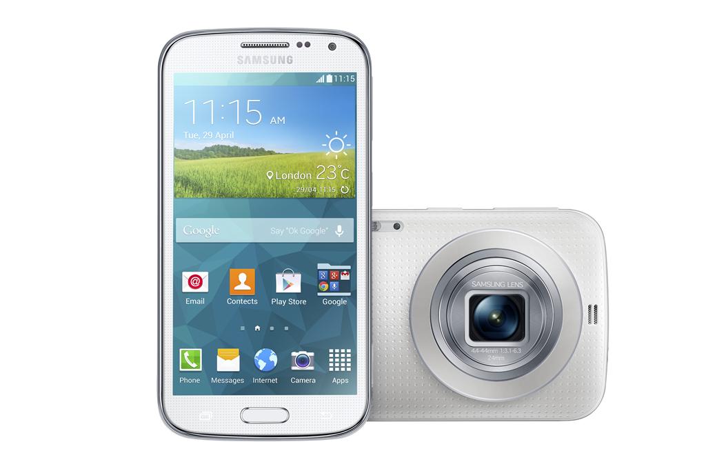 Galaxy K zoom Shimmery White 03 Samsung i Vip predstavili Galaxy K Zoom: Smart telefon sa optičkim zumom