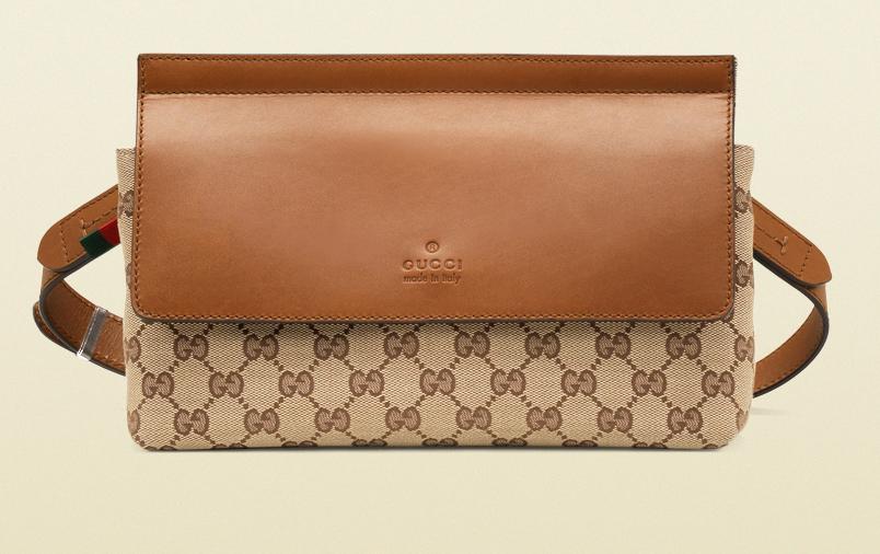 Gucci Original GG Canvas Belt Bag Modiranje danas: Ponovo se nose pederuše
