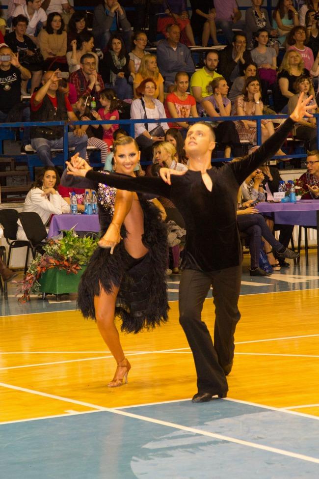 Katarina Obradovic i Vukasin Prvulovic Plesni klub Aurora Svet je lepši kada plešemo: Najbolji plesači Srbije na državnom prvenstvu