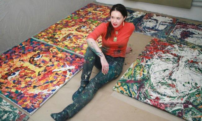 Katarina 3 Najlepši umetnici sveta: Slikar Katarina Lebedeva