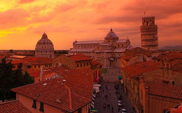 Pisa+Italy+ +B3A61H Put pod noge: Ovde je rođen Pinokio