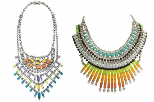 Raznobojne mladalacke ogrlice Moda i lepota: Boje koje pokreću