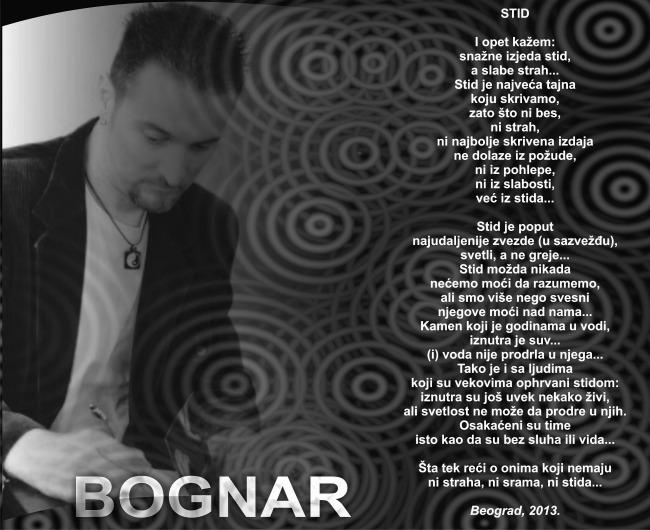 STID Wannabe intervju: Zoran Bognar, pesnik