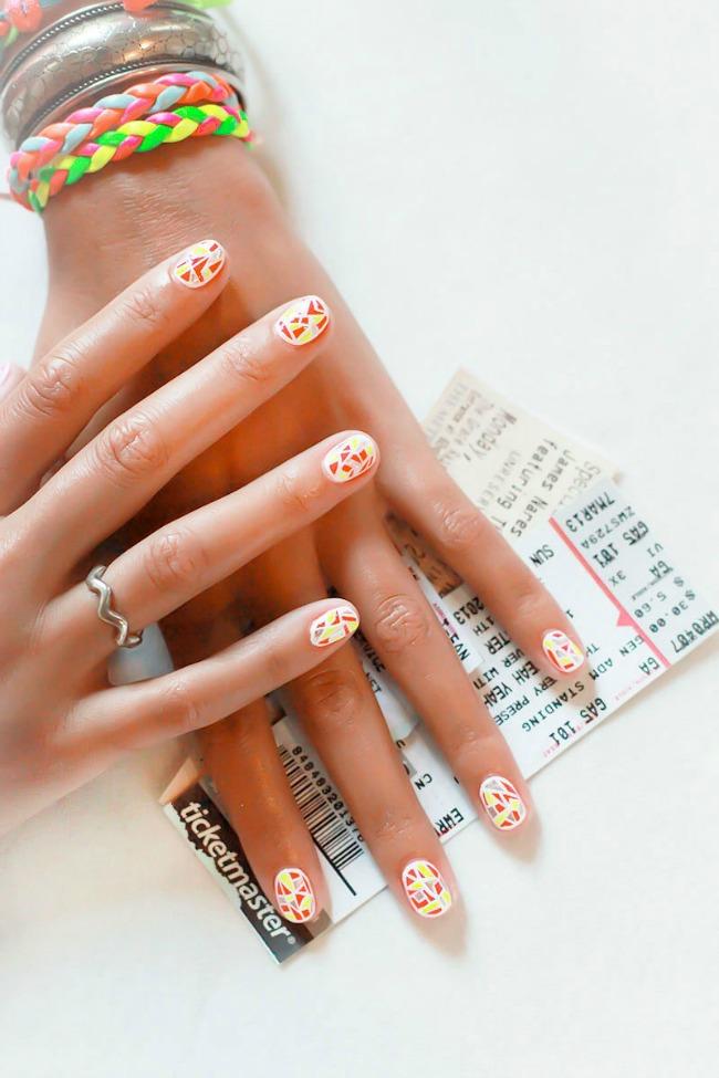 Sareno Nail Art: Šare na noktima kakve do sada niste videli