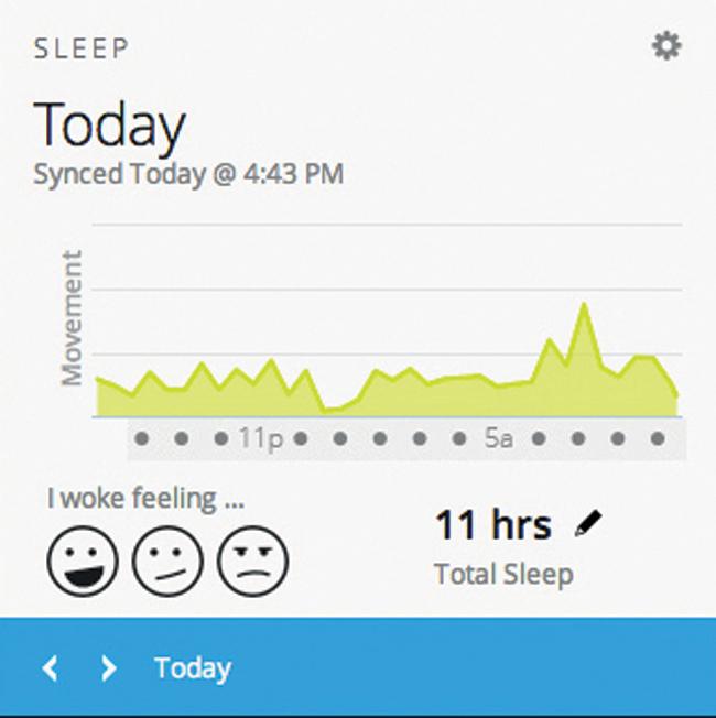 Slika 1 Vivofit Fitness narukvica za kvalitetniji i zdraviji život
