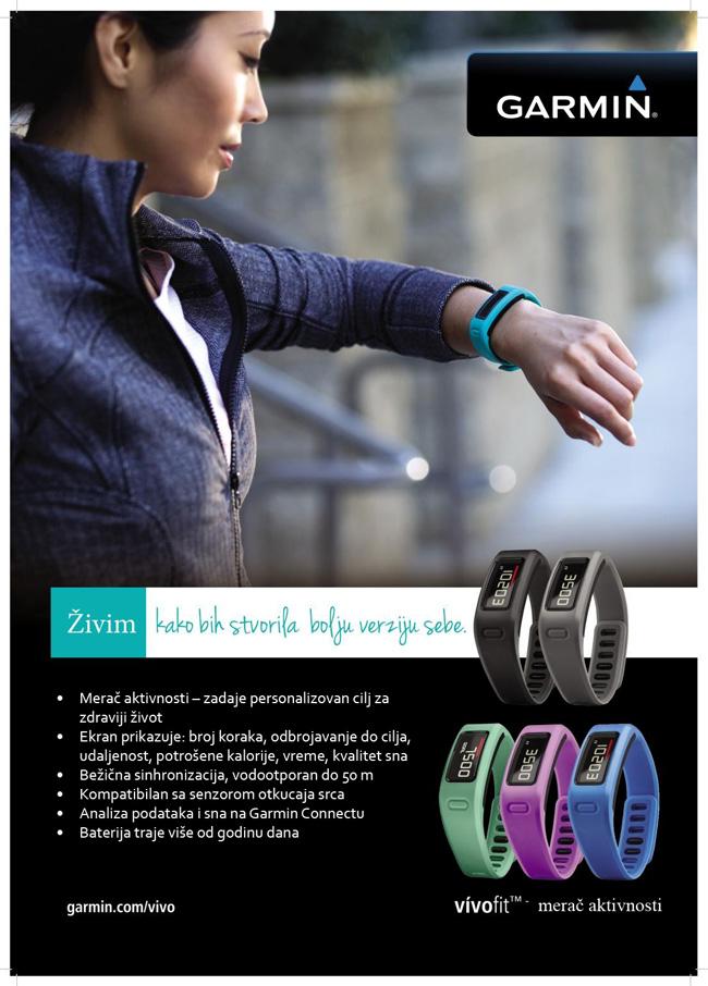 Slika 5 Vivofit Fitness narukvica za kvalitetniji i zdraviji život