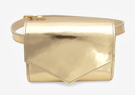 Sonia Rykiel Metallic Belt Bag Modiranje danas: Ponovo se nose pederuše