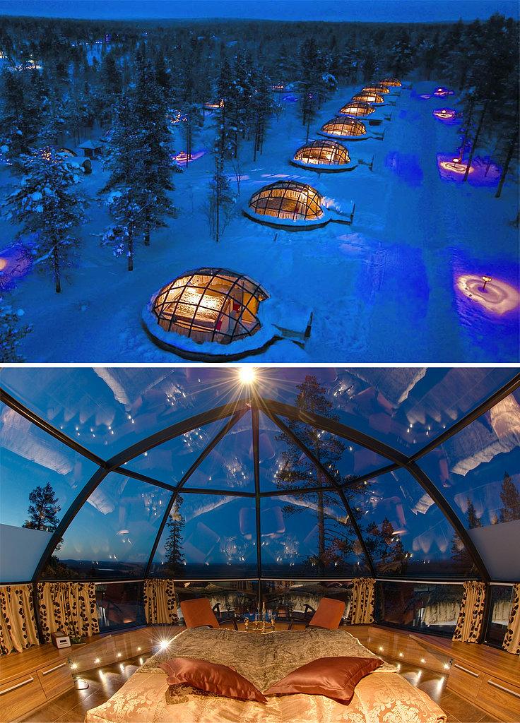 Stay Glass Igloo Finland Put pod noge: Neobična iskustva sa putovanja