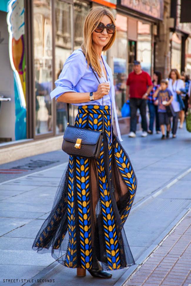Valentino suknja Street Style Zagreb: Bez osmeha nikuda!
