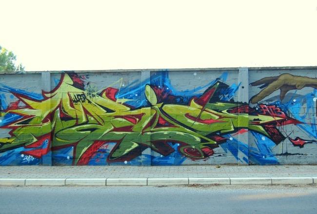 WUPER1 Vreme je za umetnost: Clash Wall