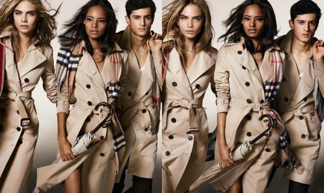 burberry22 Modne vesti: Bekamova je sam svoj promoter, dok Burberry i H&M to rade drugačije