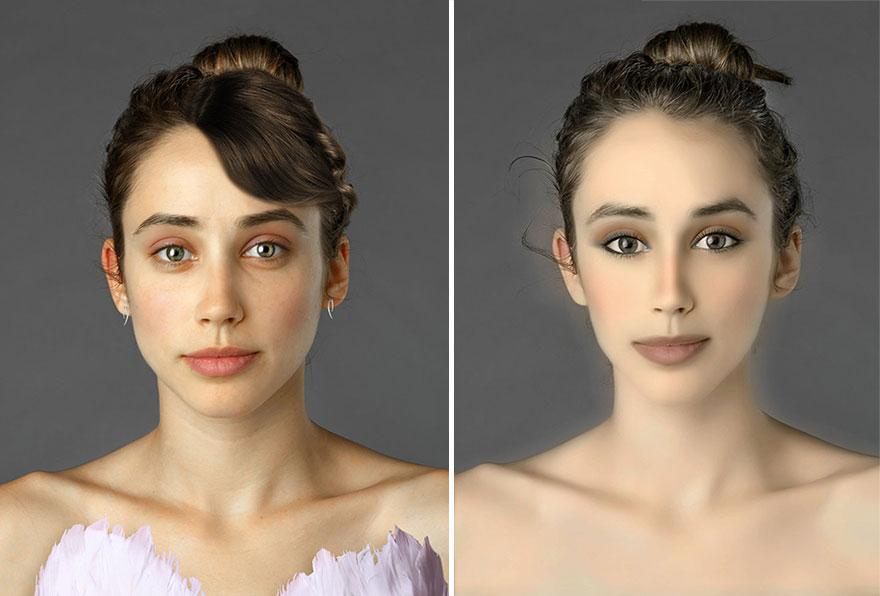 global beauty standards before and after esther honig 26 Fotošop: Kakvi su standardi lepote na različitim delovima planete?