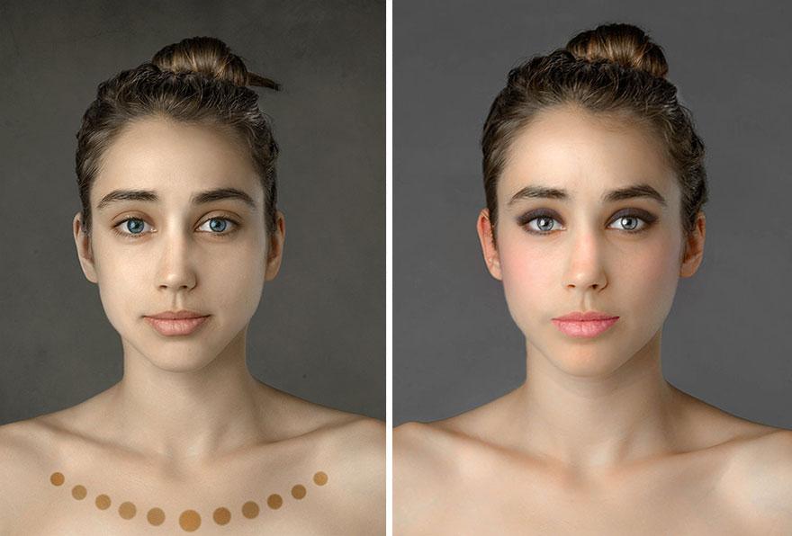 global beauty standards before and after esther honig 27 Fotošop: Kakvi su standardi lepote na različitim delovima planete?