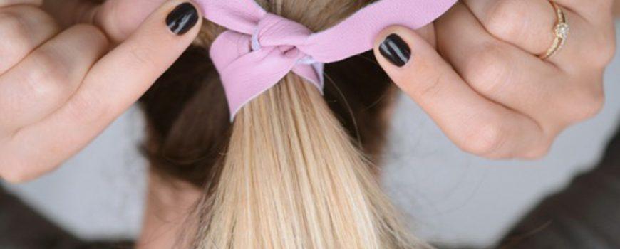 Uradi sama: Kožni ukras za kosu