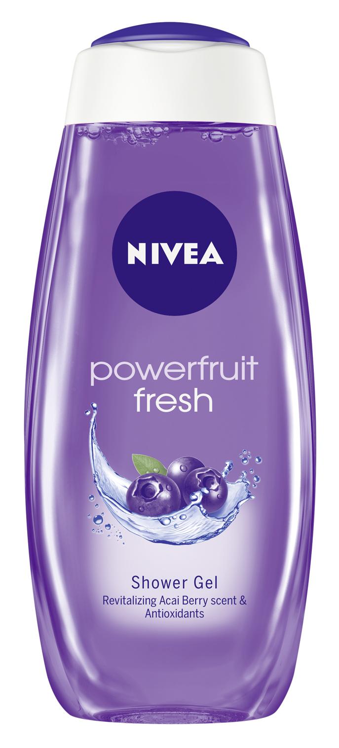 powerfruit 500 Nivea gelovi za tuširanje: Obradujte sebe i svoju porodicu