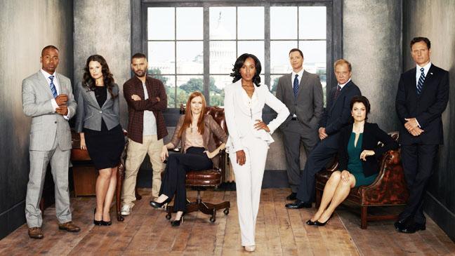 scandal season 2 Virtuelni svet: O ovim serijama se najviše tvitovalo