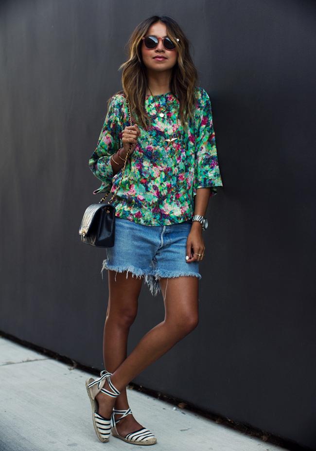 sincerely jules  Modne blogerke ovog leta nose: Teksas šorts