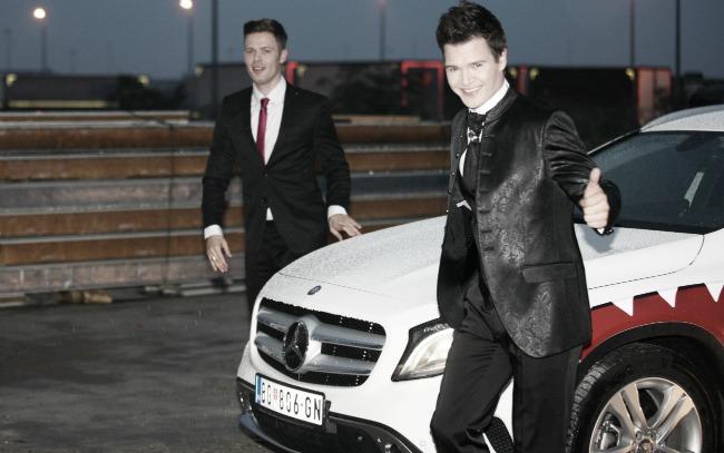 za medije 7 GLA Mercedes: Dolazak u velikom stilu