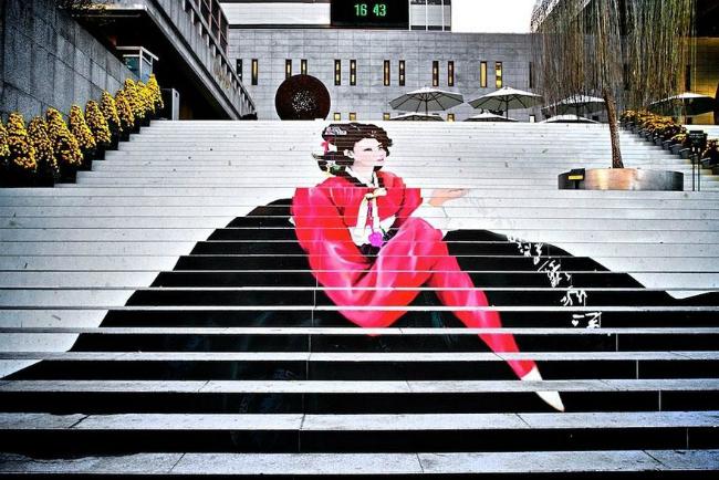 1119 934x Kreativnost na ulicama: Otkačene stepenice
