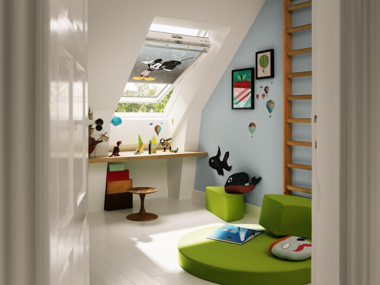 121093 01 XL Disney & VELUX: Saveti za uređenje dečje sobe