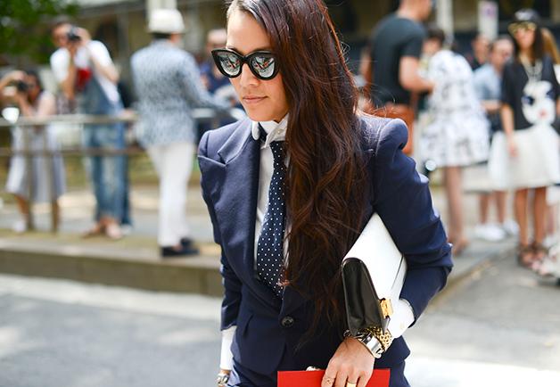 1404153941898 women street style paris fashion week ss2015 08 Street Style: Žene na muškoj Nedelji mode