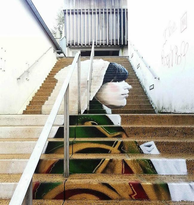 1611 934x Kreativnost na ulicama: Otkačene stepenice
