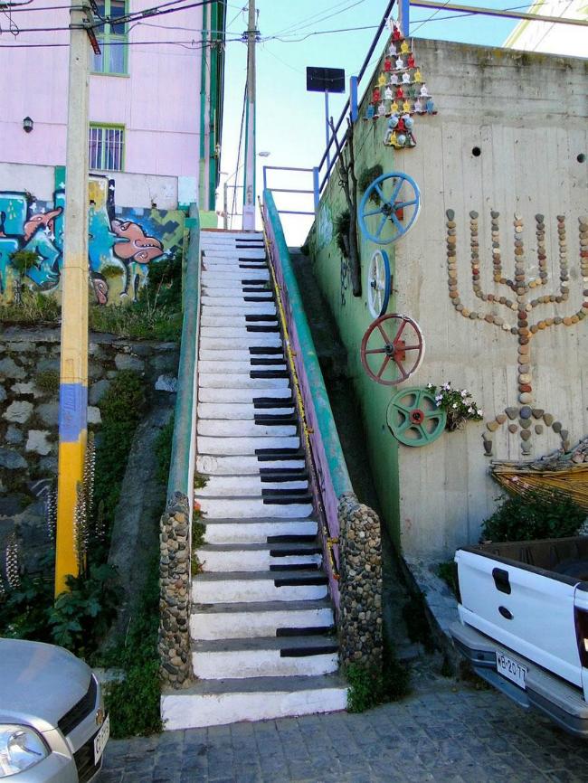 323 934x Kreativnost na ulicama: Otkačene stepenice