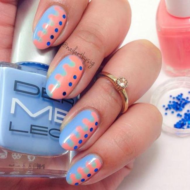 337 Letnji trendovi: Pastelne boje i zanimljivi printovi na noktima