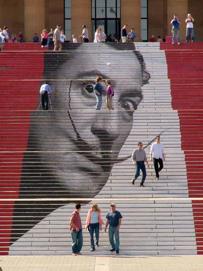 422 934x Kreativnost na ulicama: Otkačene stepenice