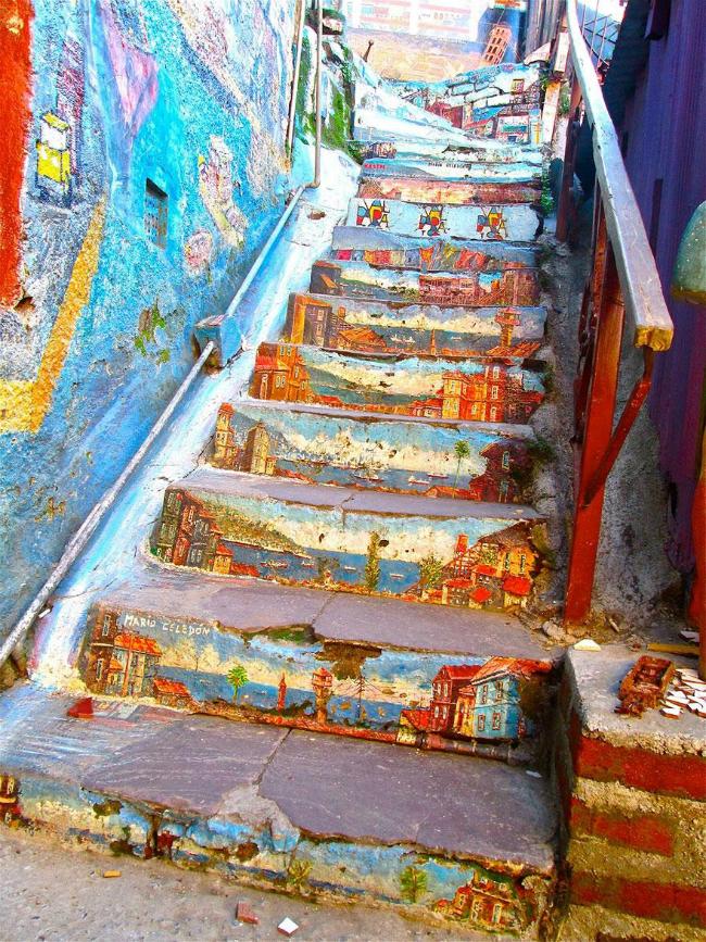 516 934x Kreativnost na ulicama: Otkačene stepenice
