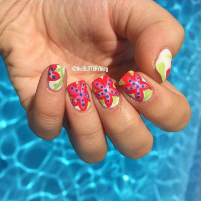 520 Letnji trendovi: Pastelne boje i zanimljivi printovi na noktima