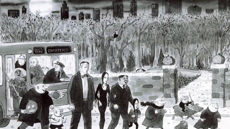 Addams7 Čarls Adams: Majstor ilustracija